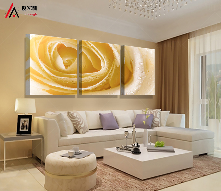 poster mass effect Beautiful roses painting picture canvas art print cuadros tableau decoration Modular painting flowers wall(China (Mainland))
