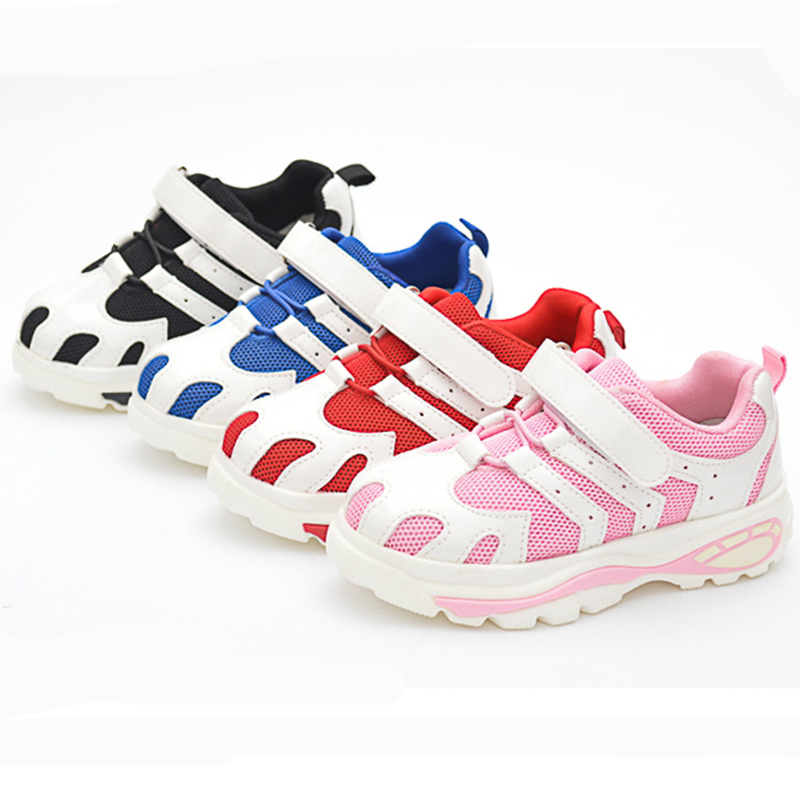 Plastic Mesh Shoes Sports Shoes Children Shoes Fashion Shoes 2016 New Polyline Sneaker<br><br>Aliexpress