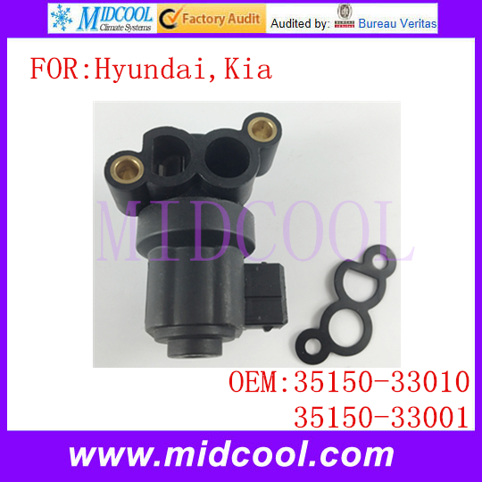 New Auto Idle Air Control Valve use OE NO. 35150-33010, 35150-33001 Hyundai Kia )