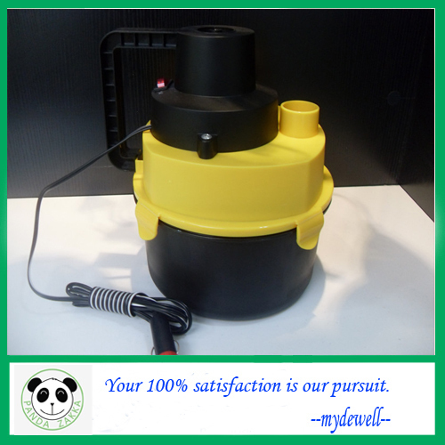 100% High quality portable car Vacuum Cleaner,mini dust collector,hand held vacuum cleaner,wet&dry&air inflation,Free shipping.