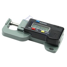 free shipping Portable Precise Digital Thickness Gauge Meter Tester Micrometer 0 to 12 7mm