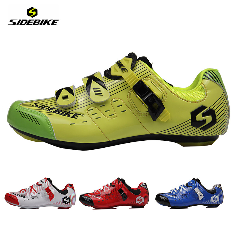 SIDEBIKE Professional Men Women Cycling Shoes Road Bike Racing Sports Self-Locking Sports Ciclismo Shoes Riding Bicycle Athletic(China (Mainland))