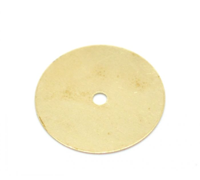 """100PCs Brass Blank Stamping Tags Round Disc for Necklaces,Earrings,Bracelets etc.18mm(3/4"""") Mr.Jewelry(China (Mainland))"""