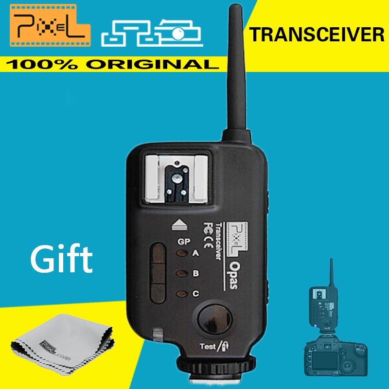 Pixel Opas Transceiver, Professional Flash Trigger for NIKON Camera compatible with Metz/Sigma/Sunpak Flashgun/Studio Light(China (Mainland))