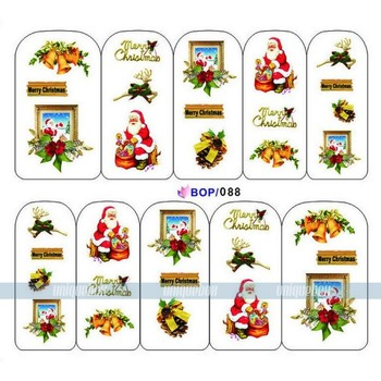 New Arrival Nail Decals beauty nail sticker water transfer nail sticker  for nail art decorations 051027