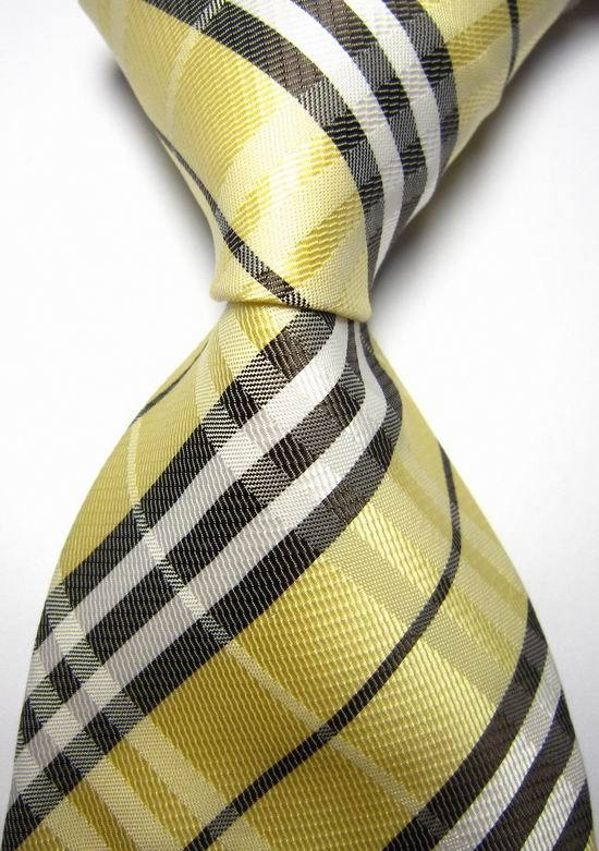 NT0125 Striped Men Ties Silk Classic Polyester Jacquard Woven Casual Necktie Fashion Wedding Party Holiday Gift Tie(China (Mainland))