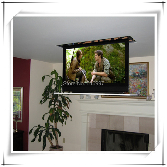 """Pop up TV lift 750mm for 60"""" moder tv stand"""