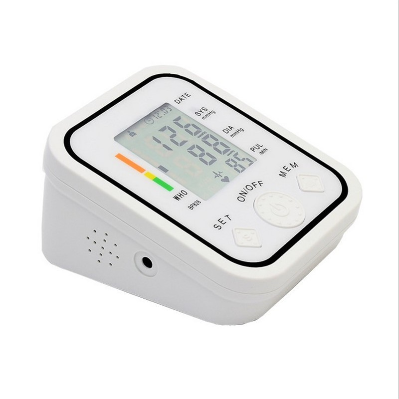 Arm Blood Pressure Pulse Monitor Health care Monitors Digital Upper Portable Blood Pressure Monitor tonometer  sphygmomanometer cheap