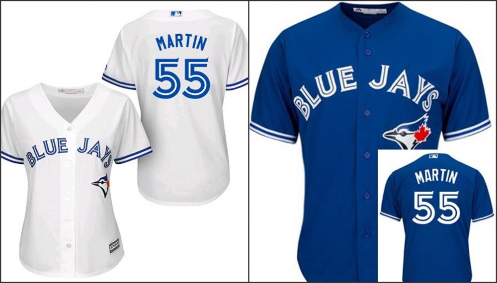 Cheap Toronto Blue Jays Womens Baseball Jersey Cool Base #55 Russell Martin jerseys/shirts Embroidery logo<br><br>Aliexpress