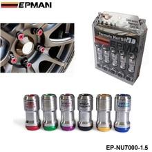 M12 X1.5 AUTHENTIC EPMAN ACORN RIM Racing Lug Wheel Nuts Screw 20PCS CAR For Toyota EP-NU7000-1.5(China (Mainland))