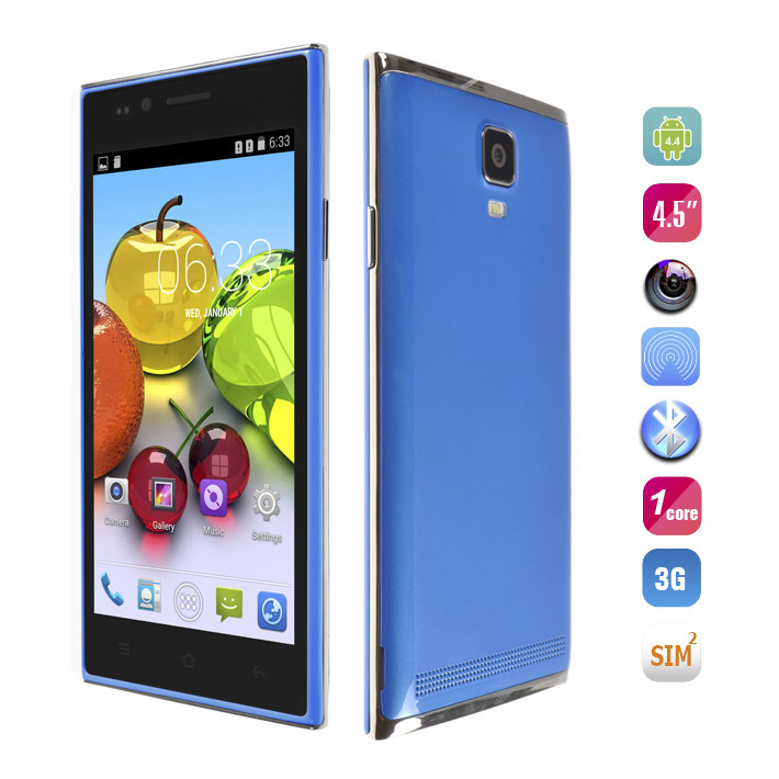 """In stock The cheap Original MG7 Mobile phone 4.5"""" Screen MTK6572 Cored Quad Android 4.4 Single Core WCDMA cell phones unlock(China (Mainland))"""