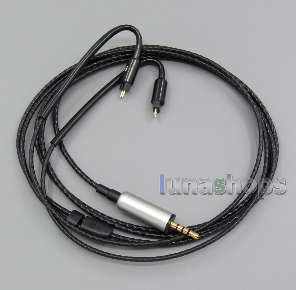 2.5mm TRRS Earphone Cable With Hook For W4r UM3X UM3RC ue11 ue18 JH13 JH16 ES3 For DIY Westone LN005533