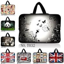Notebook Laptop Sleeve Waterproof Bag Case Handbag For iPad Macbook Tablet PC 7 10 12 13 14 15 15.6 17 inch Women's Men's Kids(China (Mainland))