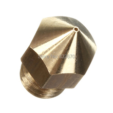 0 4mm 3D Printer Extruder for MakerBot Mk8 Nozzle Replacement Print Head Brass FREE SHIPPING