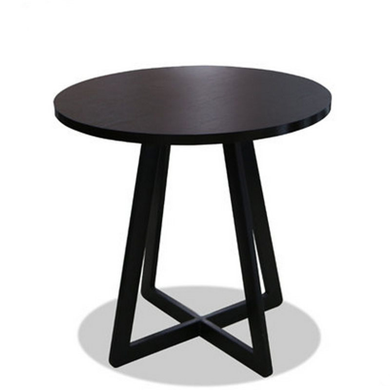 Round Wooden Dining Table DIA70*H70 CM(China (Mainland))
