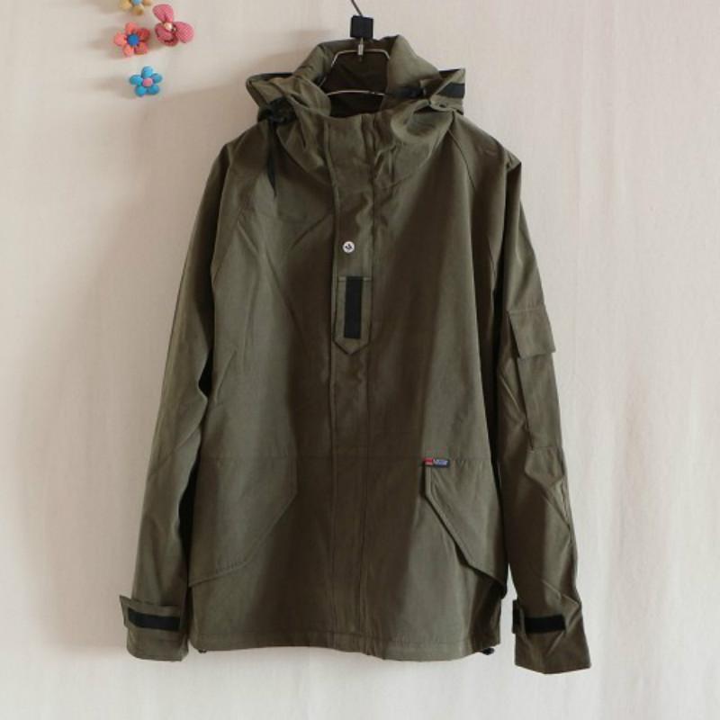 Brand Harajuku Skateboard Sport GREEN/BLUE Outdoor Jackets Men/Women Lovers Windbreaker Windproof Clothes Coats Chaqueta Hombre(China (Mainland))