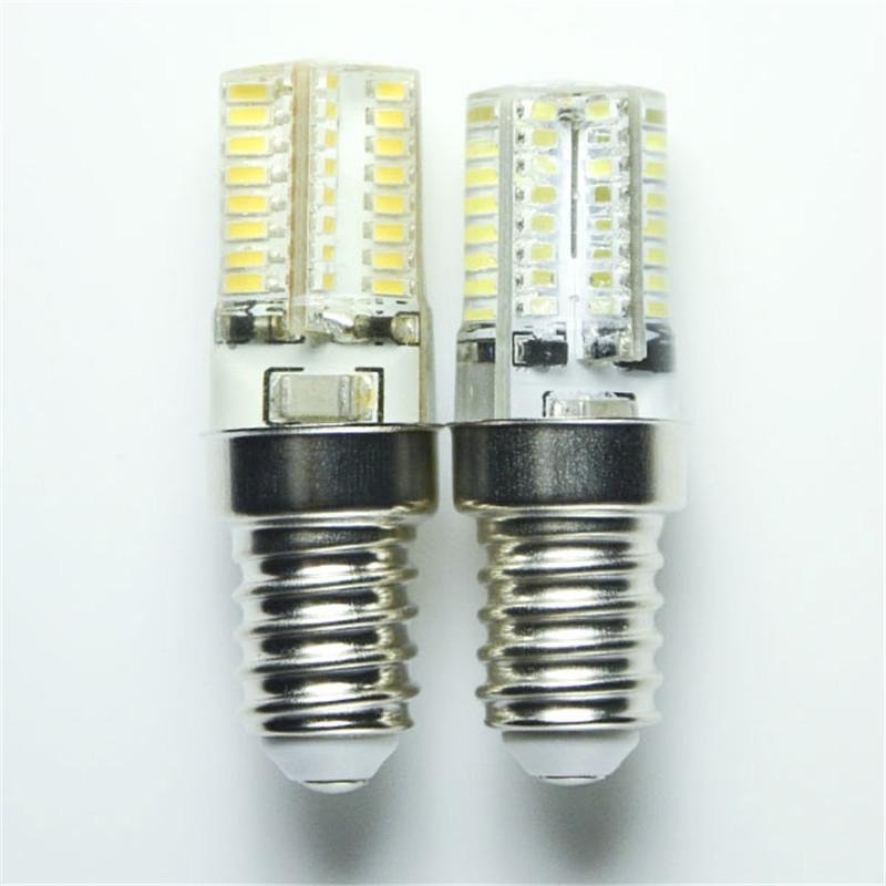 Гаджет  New E14 Base SMD3014 Silica Gel LED Tower Lamp 4W 64led Corn bulb AC220V/110V Warm white/White led light Spotlight Chandelier None Свет и освещение