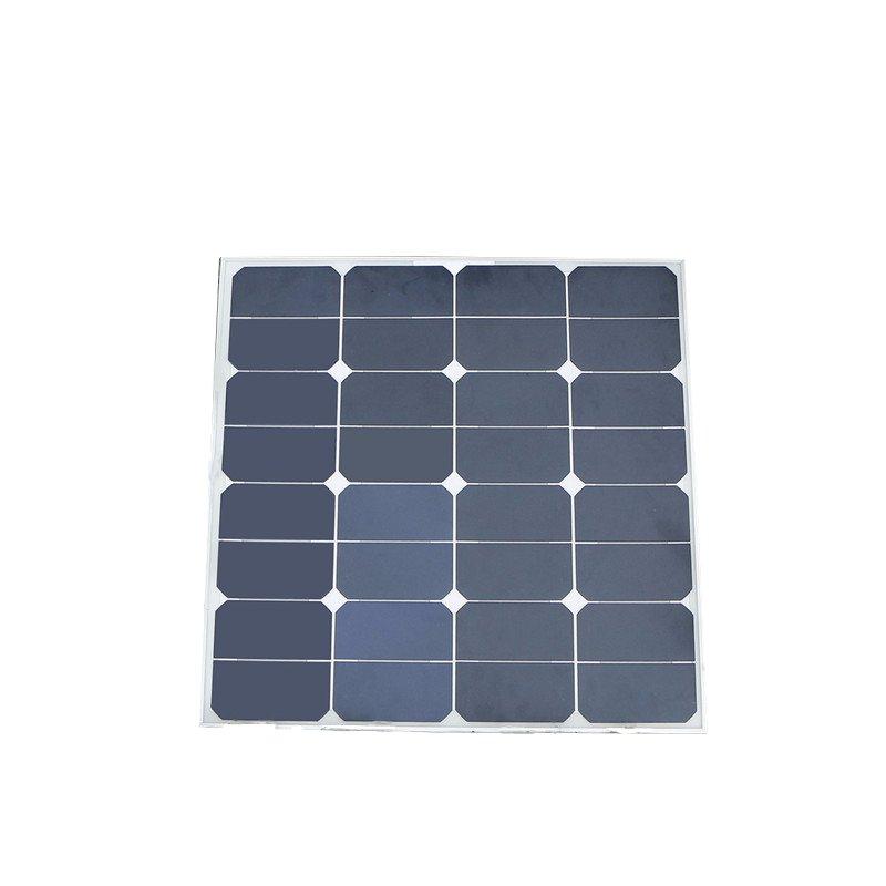 Universal Elfeland 50W 18V Mono Flexible Solar Panel Monocrystalline Sunpower for Battery Charger Caravan Outdoor+Sunpower Chip(China (Mainland))
