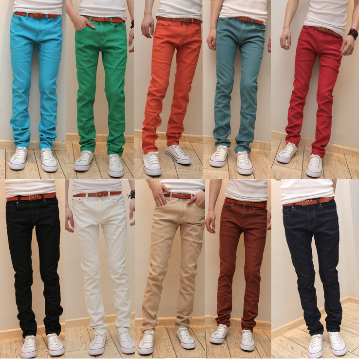 Мужские джинсы 2015 Slim