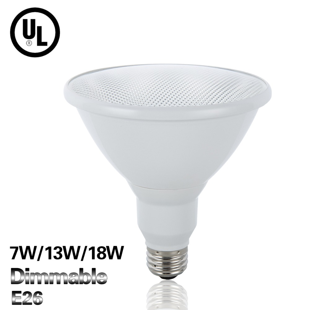 E26 Led Lamp Full 7W 13W 18W Bulb Lighting AC110V Par20 / Par30 / Par38 Bombillas Led UL Certification High Quality Home Lights(China (Mainland))