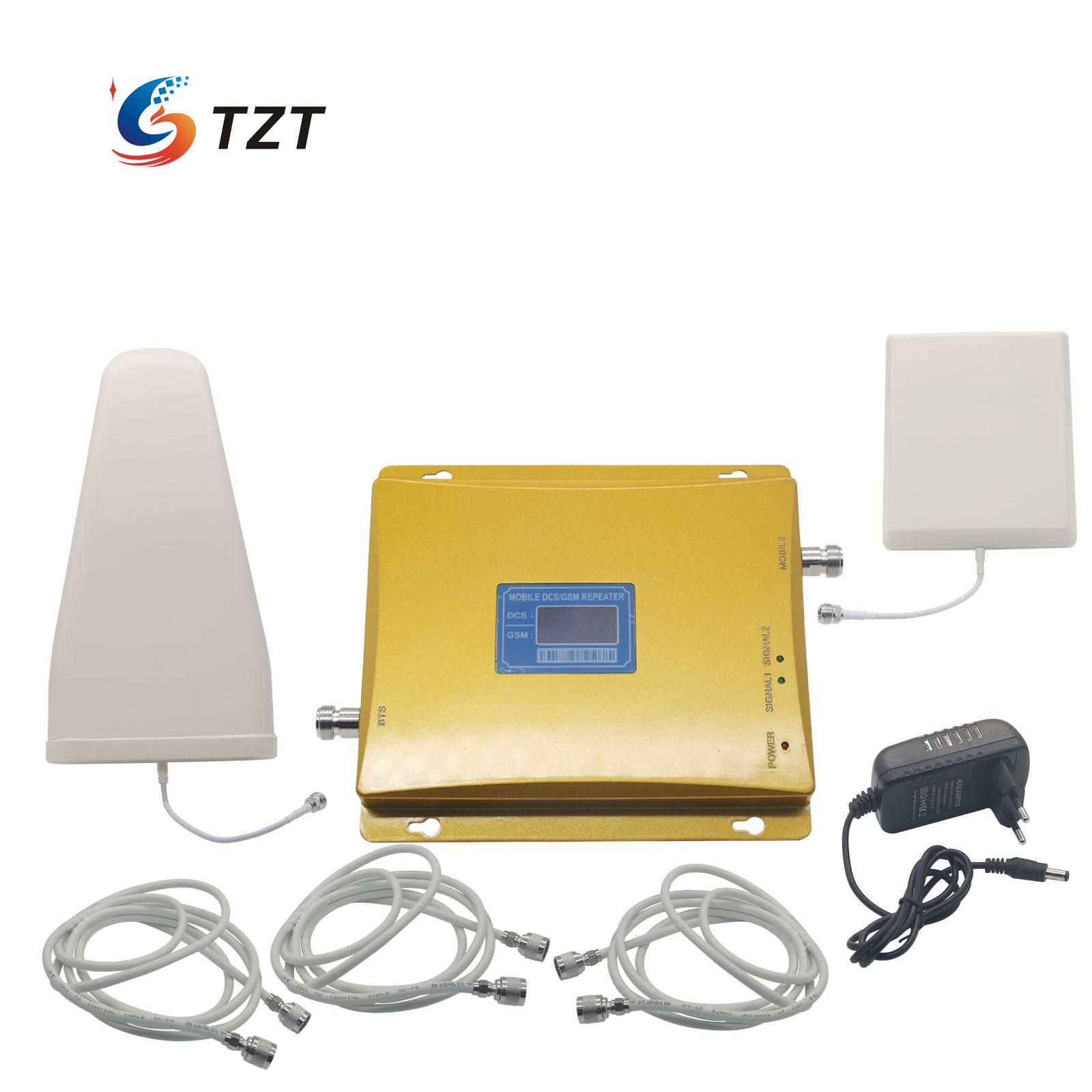 LCD Display GSM 900MHz 4G LTE DCS1800 MHz Dual Band Mobile Signal Amplifier Repeater(China (Mainland))