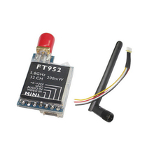 Super Light FPV FT952 5.8GHz 32CH 200MW AV Wireless Mini Transmitter SMA Female FPV System