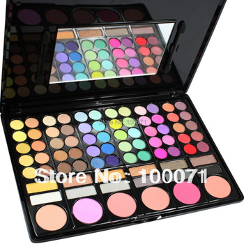 2014 Fashion Special Hot Sale New Pro 78 Color Free Shipping Makeup Cosmetics Palette Eye Shadow #2550