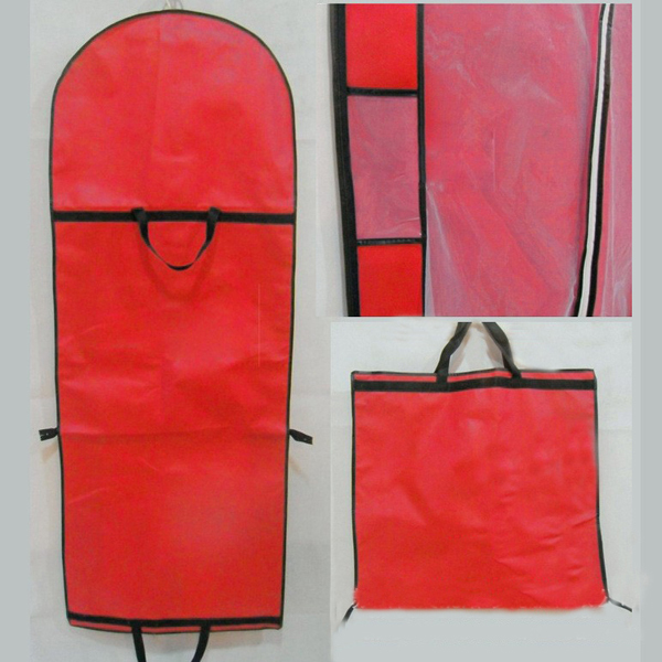 Foldable Bridal Wedding Dress Ball Gown Garment Storage Bag Travel Clothes Cover()
