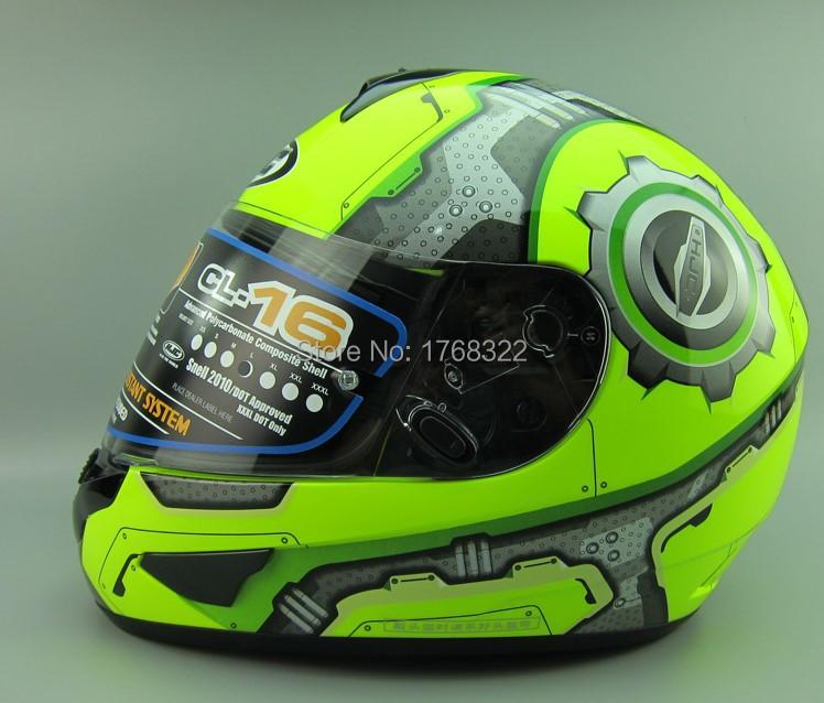 HJC CL16 motorcycle helmet MOTO full face helmet Kart racing motociclistas capacete DOT M/L/XL/XXL(China (Mainland))