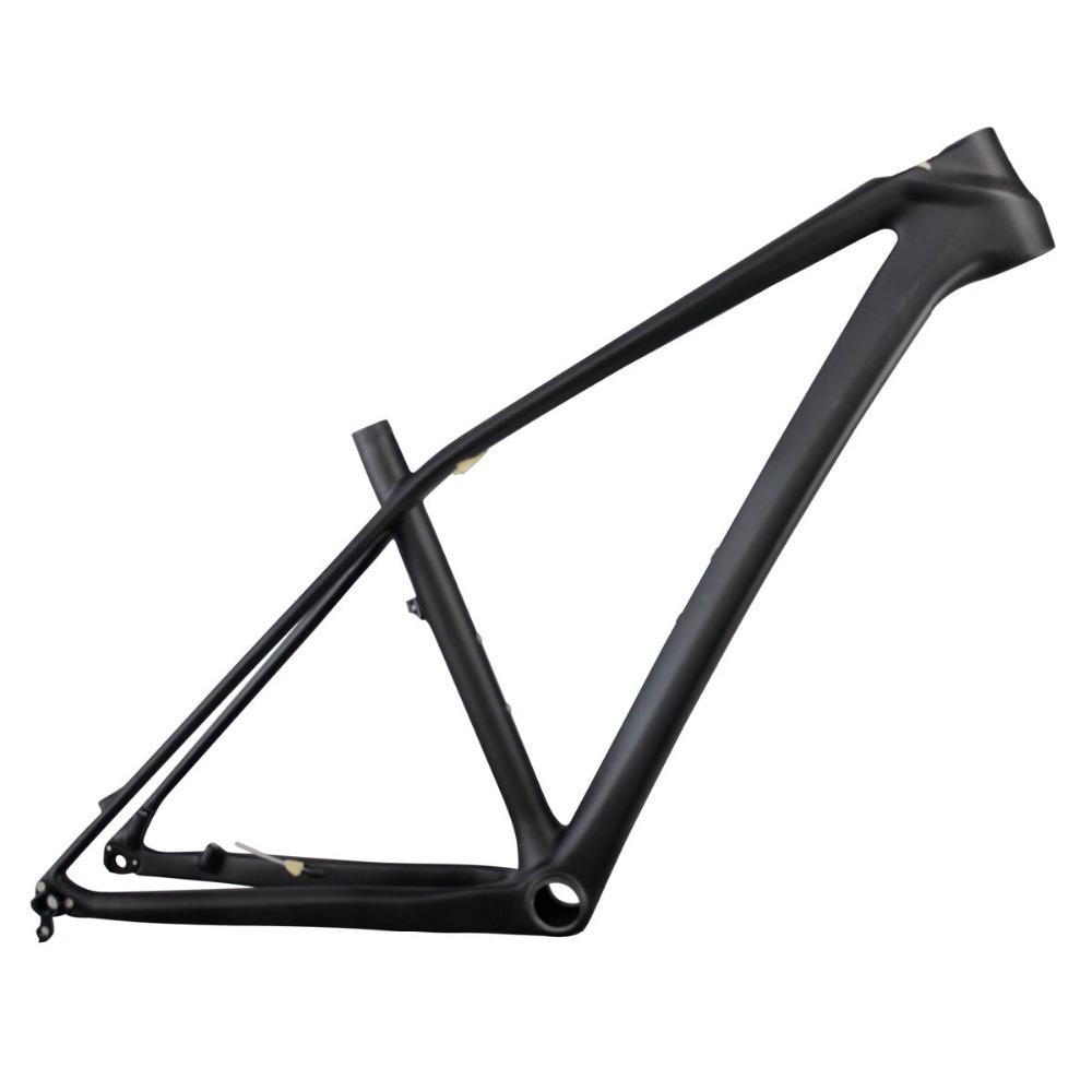 2015 ICAN new 27.5er mtb frame carbon fiber 650B mountain frame UD matt size 15/17/19 BB92 bike frame AC650B(China (Mainland))