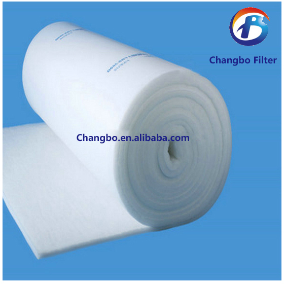 Synthetic fiber ceiling filter, air dust collector(China (Mainland))