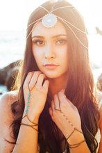 New Arrival Romantic Indian Head chain hair jewelry Gold Chain Tiara bijoux de tete Forehead acessorios para cabelo