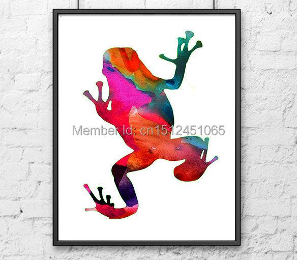 Nouveau enfants enfants art mural abstrait d coration murale frog art photo i - Nouveau peinture maison ...
