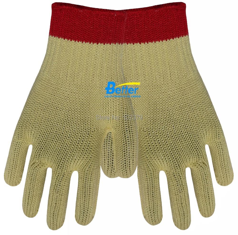 Aramid Fiber Gloves Cut Resistant Working Gloves HPPE Anti Cut Work Gloves