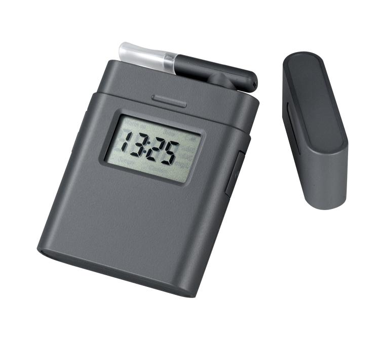 portable Mini digital blood alcohol breathalyzer tester(0.000%-0.199% BAC (0.00-1.99g/l) with backlight(Hong Kong)