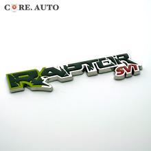 RAPTOR SVT  Logo Boot Trunk Badge for Ford F150 Fiesta Kuga Ranger Galaxy Metal Emblem Sticker (China (Mainland))