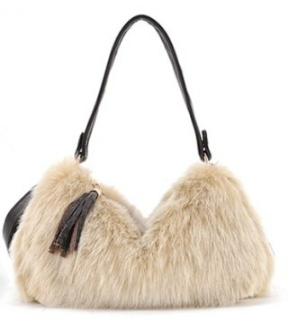 2015 New Fashion Bag Handbags Women Famous Brand Desigual Shoulder Bag With Fur&Tassels Ladies Casual Tote Bag(China (Mainland))