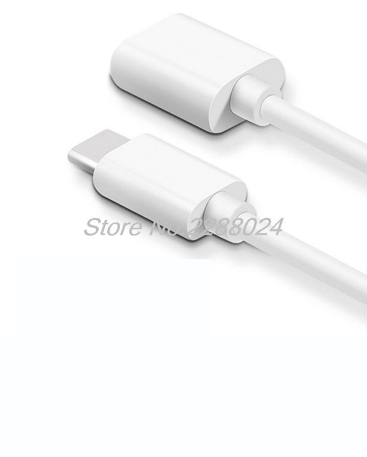 Type-C USB 3.1 To USB 3.0 OTG Adapter Type C Data Cable Connector For XIAOMI note 2 redmi pro 4s For Xiaomi 4c 5 Mi MiPad 2