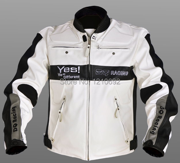 166 motorcycle racing suit pu leather motorcycle jacket warm spring and autumn bikes from clothes(China (Mainland))
