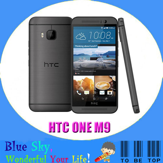 "Original HTC ONE M9 Cell phone Unlocked Quad-core 3GB RAM 32GB ROM 5.0"" CapacitiveScreen 20.7MP Camera 4G LTE Android phone"
