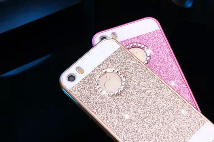 case for iphone 4 4s by mobile phone cases PC diamond i4 flash powder matte ultra thin noble atmosphere pink i caso silver blue