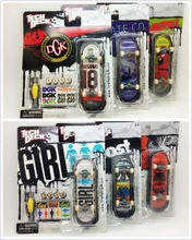 "6PCS 96mm Fingerboard Tech Decks genuine Skateboard Original package professional set ""almost HABITAT DGK"" E28H(China (Mainland))"