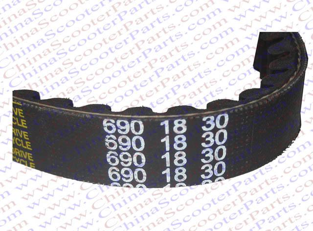 690 18 30 CVT Drive Belt font b GY6 b font 49CC 50CC 139QMB Scooter ATV