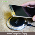 UGpine Qi Fast Wireless Charger Quick Wireless Charging Pad for Samsung Galaxy S7 S7edge S6