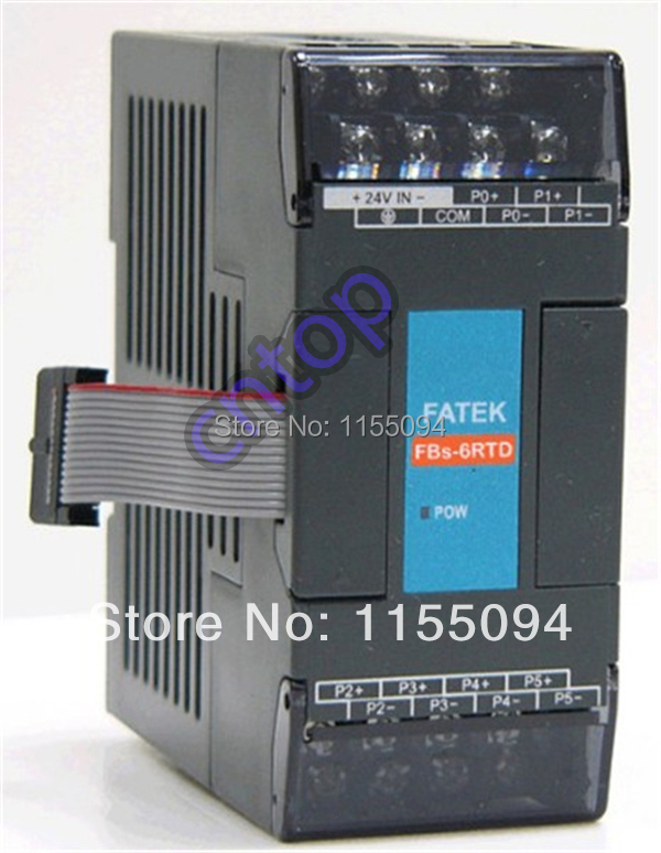 Free shipping New original FBs-6RTD Fatek PLC   24VDC Temperature Measurement Modules<br><br>Aliexpress
