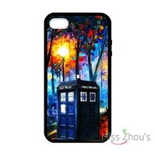 For iphone 4/4s 5/5s 5c SE 6/6s plus ipod touch 4/5/6 back skins mobile cellphone cases cover Tardis Doctor Who