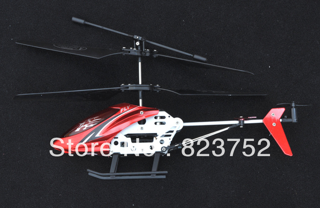 Radio Controlled Mini 2ch Helicopter Sky Genius+2*Main Blades+Free Shipping