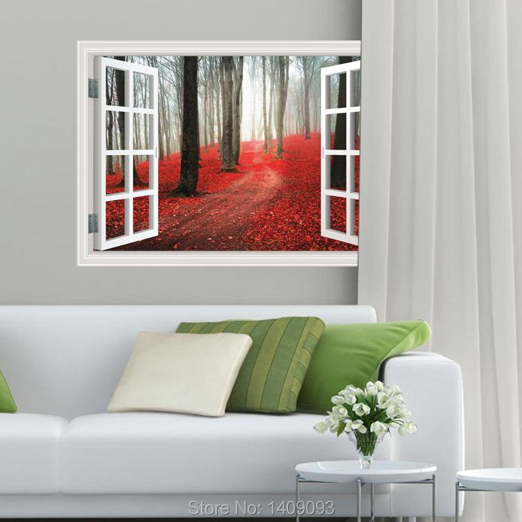 grand stickers muraux arbre promotion achetez des grand stickers muraux arbre promotionnels sur. Black Bedroom Furniture Sets. Home Design Ideas