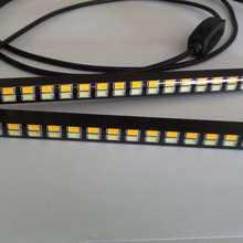 Newest 21 LED White 21 LED Yellow 5630 Car styling Daytime running lights Turning Signal DRL