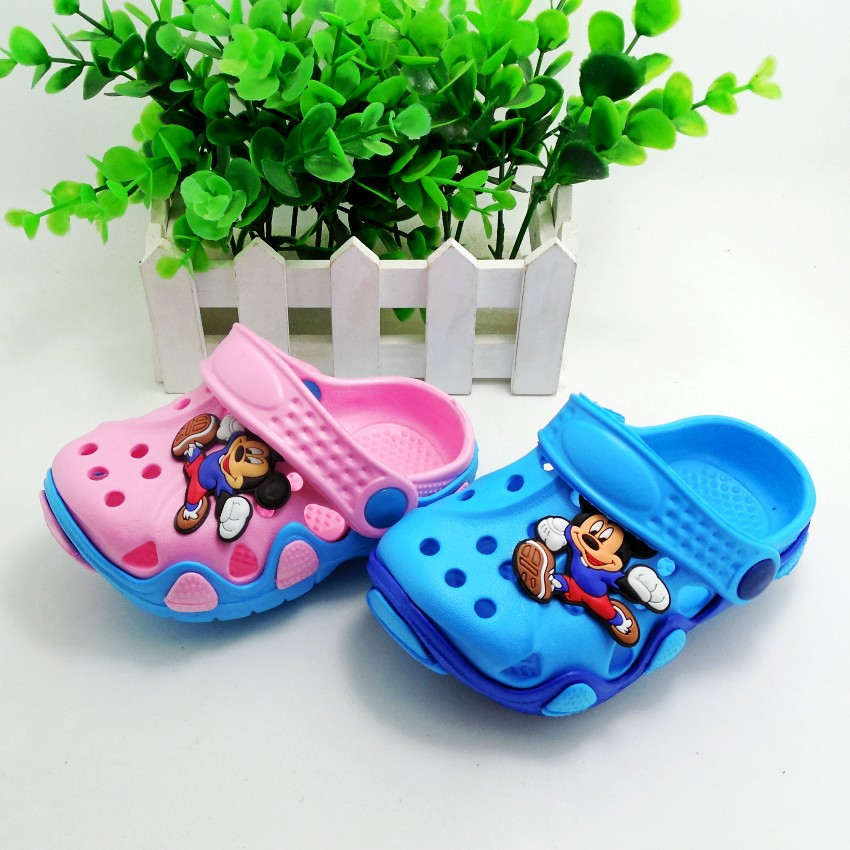 2015 New Kids Garden Shoes Boys and Girls Cro Chinese Made Hole Sandals Children Summer Slippers